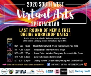 2nd lot of 2020 SWVAS Workshop Dates (2)