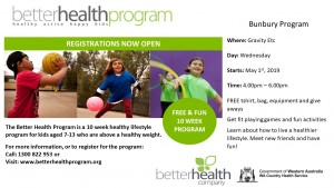 Better Health Program Bunbury T2 2019